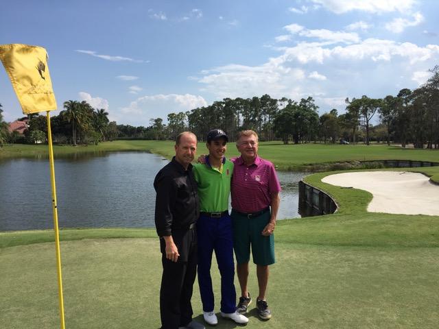 From left to right: JP Begley, Fernando Castillo, Doug Marty