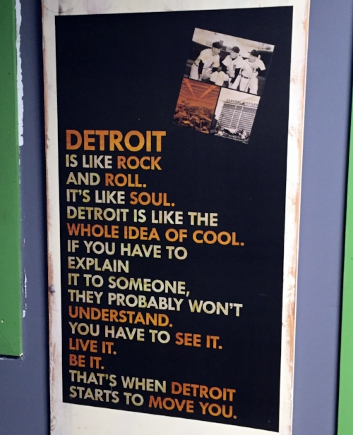 Poster found at the Detroit Grass station on detroit's preserverance.  Photo: sharon letts