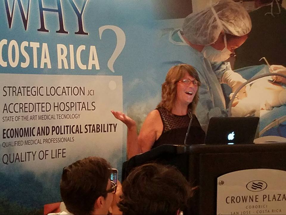 Educated Stoner Presentation - Educated stoner is also a 30 or 60 minute presentation. Shown here, Sharon Letts delivers her presentation to medical professionals and legislators in Costa Rica for its medical cannabis conference in 2016. To request a presentation, send Sharon a message via the contact page.