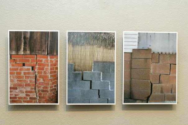 sharon's alley exhibit at the Accident gallery, eureka, Humboldt county, California  photo: Josh Jackson/Times-Standard