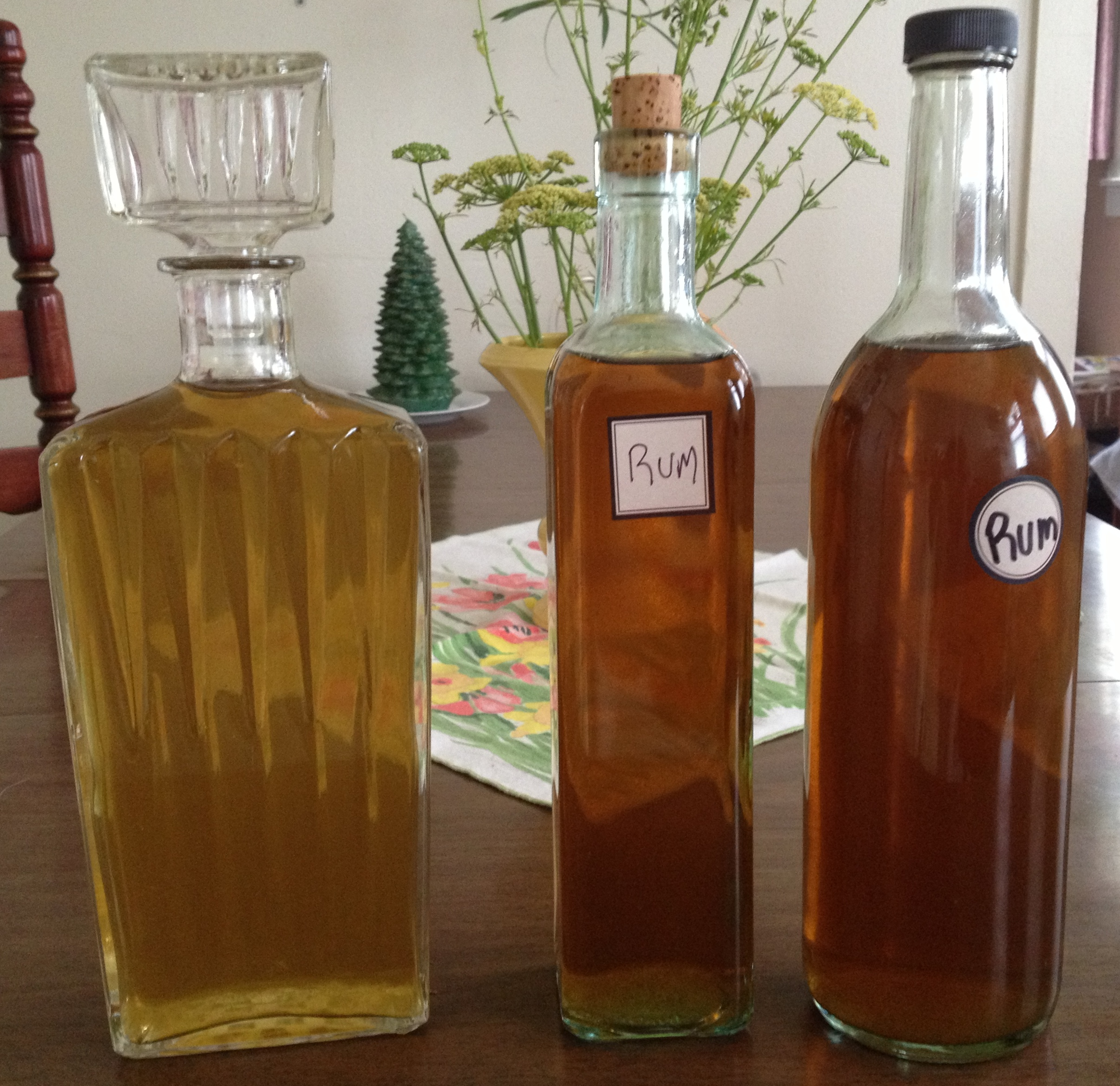 alcohol strips the terpenes from plants without heat, making delivery of this tonic non-psychoactive.  photo: sharon letts