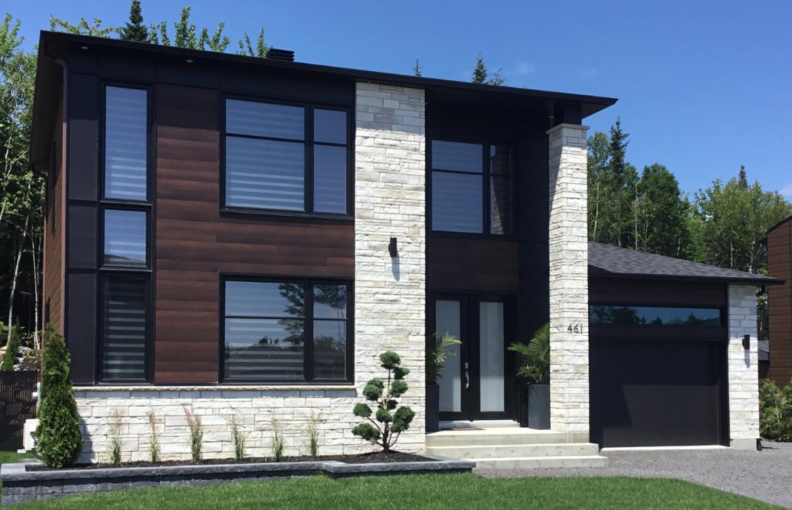 Cottage de style contemporain - Sentiers du boisé à Charlesbourg