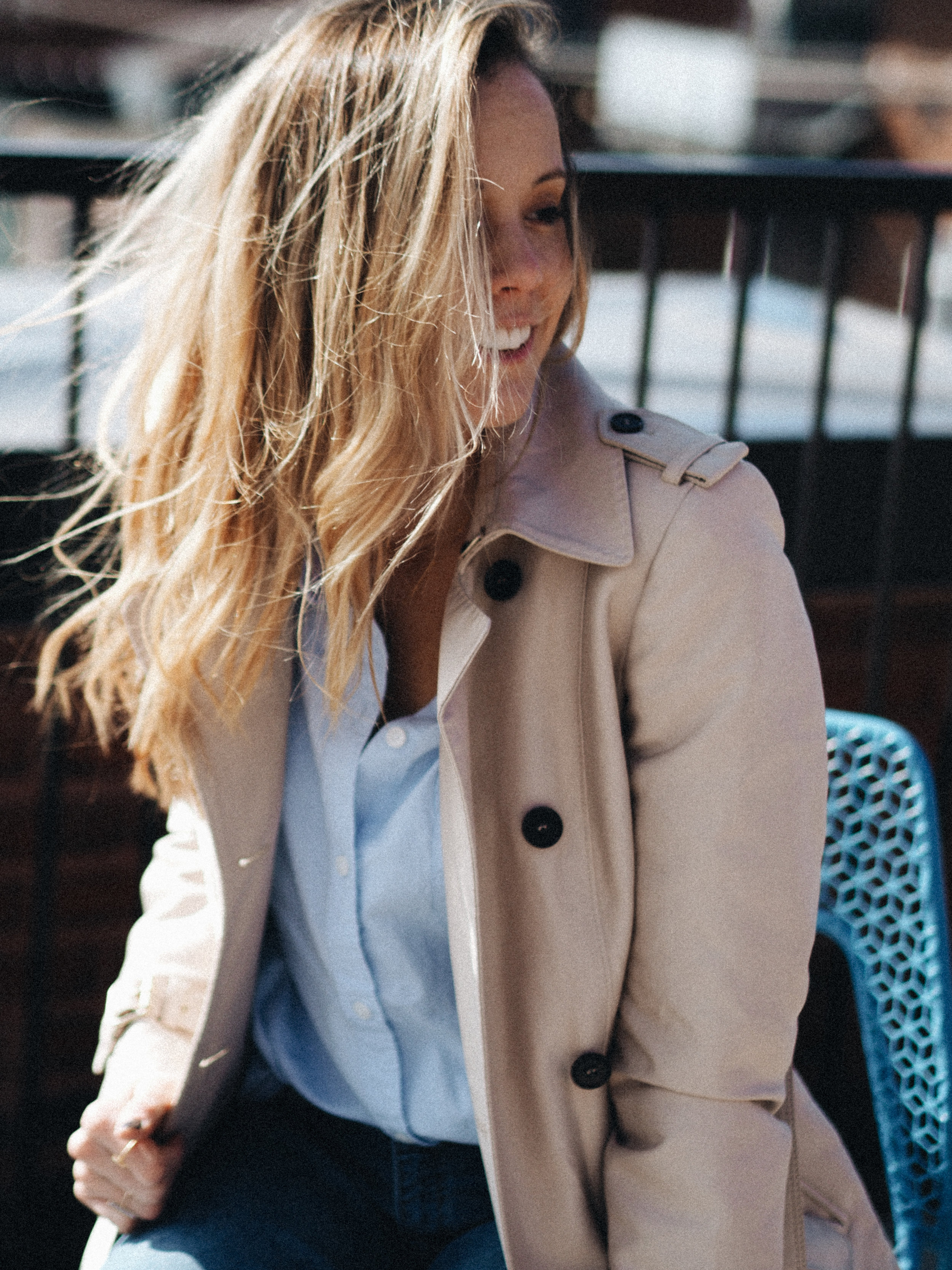 trench coat for spring