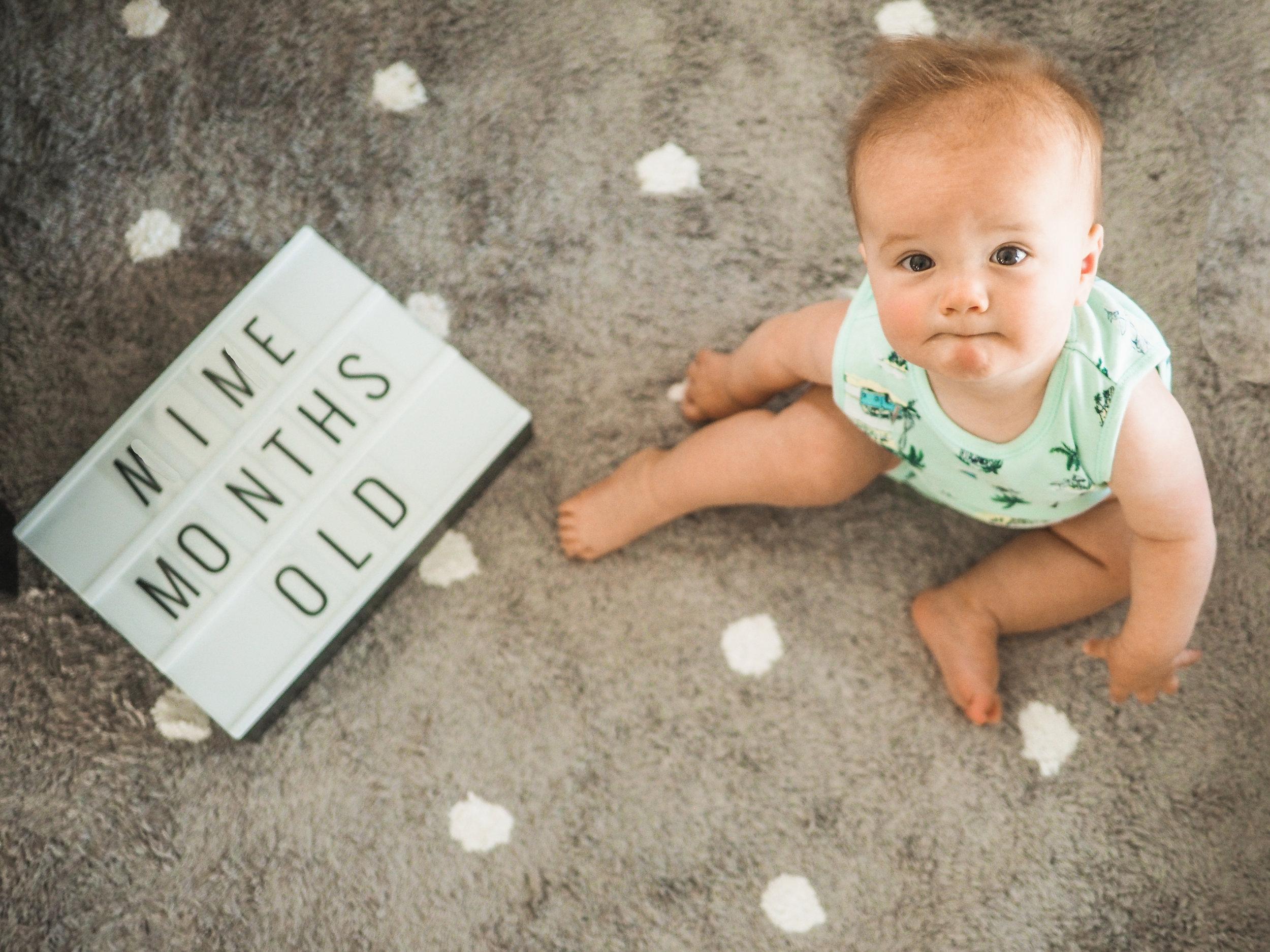 Jett Oliver 9 months old