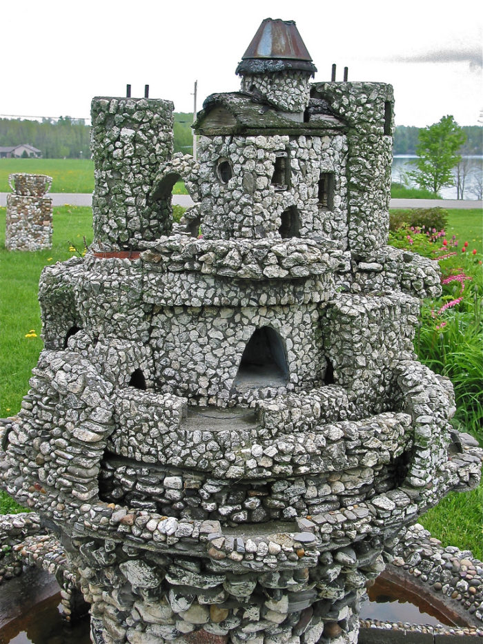 South Hero has many castles, just not like the ones you'd expect. - Harry Barber's miniature castles.