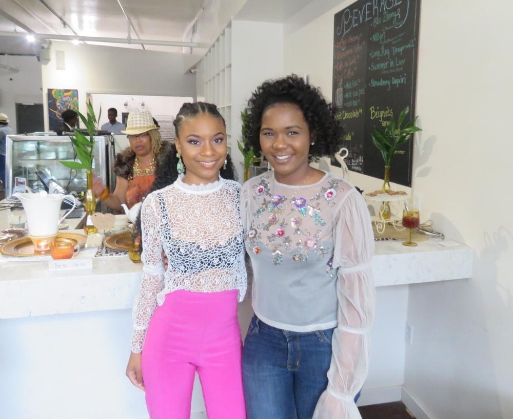 Shahedah Williams, founder of Prom Scholar & Myriah (MJ), founder of Hey BLK Girl