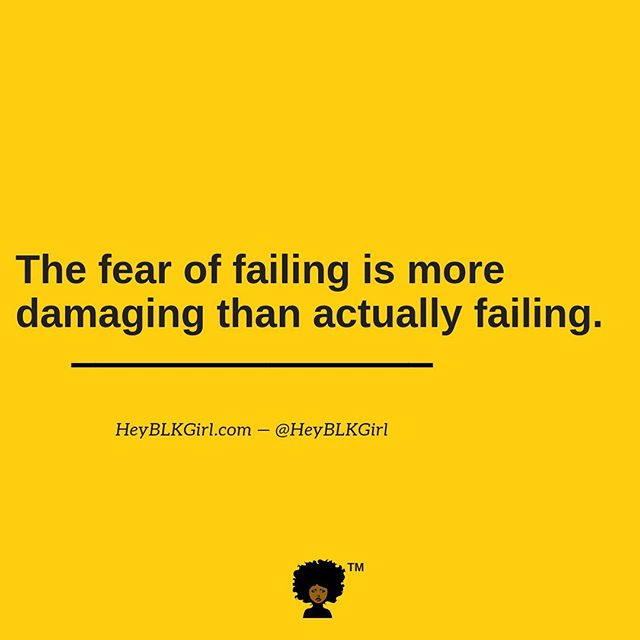 Don't let the fear of falling stop you from jumping. & don't let the fall keep you from getting back up. #heyblkgirl #morningmotivation #getupten #blackgirlsinspire