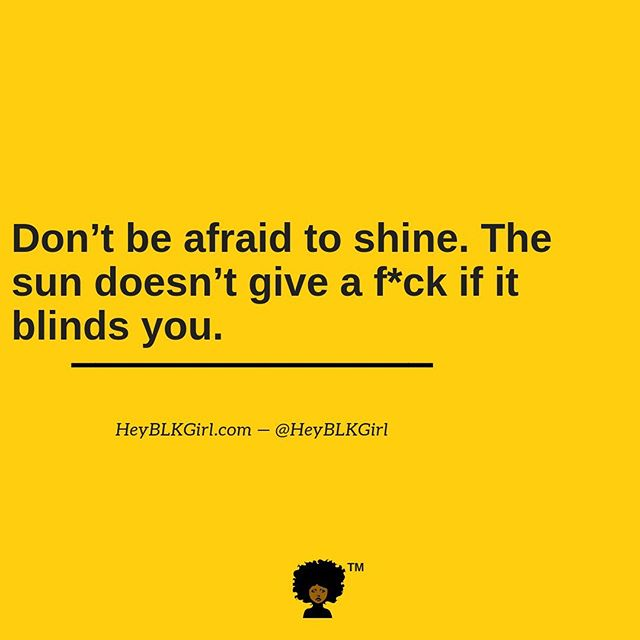 You woke up today. Why choose to be anything less than great? Go ahead sis, let the world see you shine! #heyblkgirl #morningmotivation #shinebrightlikeadiamond #wakeandbegreat  Make sure you're subscribed to HeyBLKGirl.com. Simply click the link in our bio to join the tribe. You won't want to miss what we have coming next!