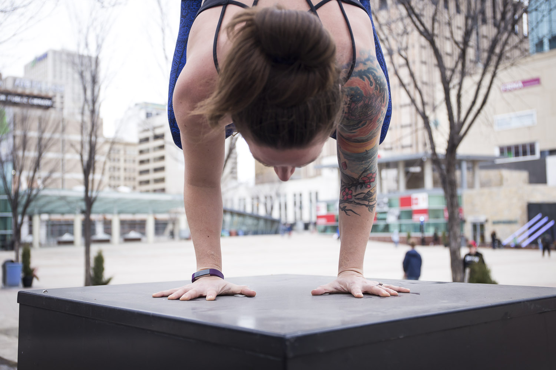 edmonton yoga arm balance