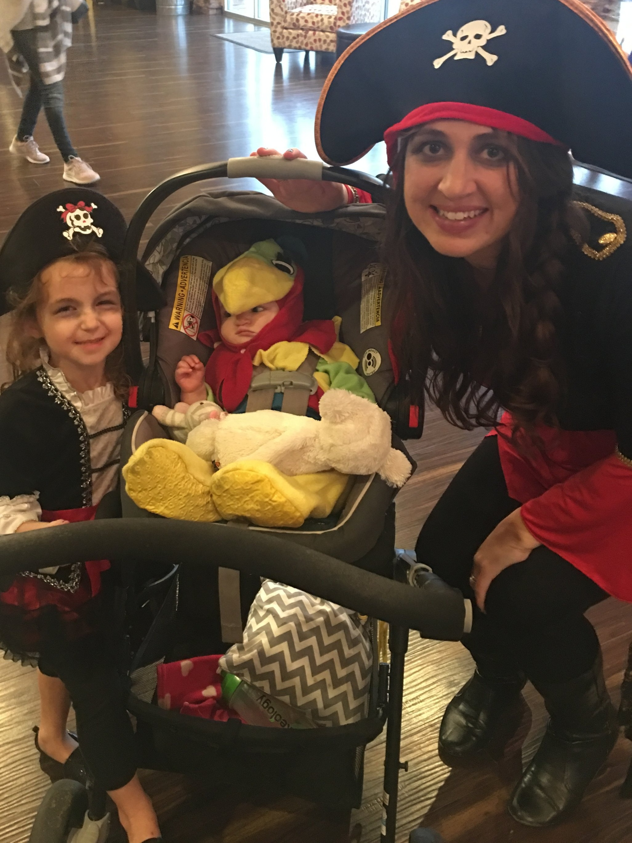 Pirate Halloween costumes sahm toddler and baby