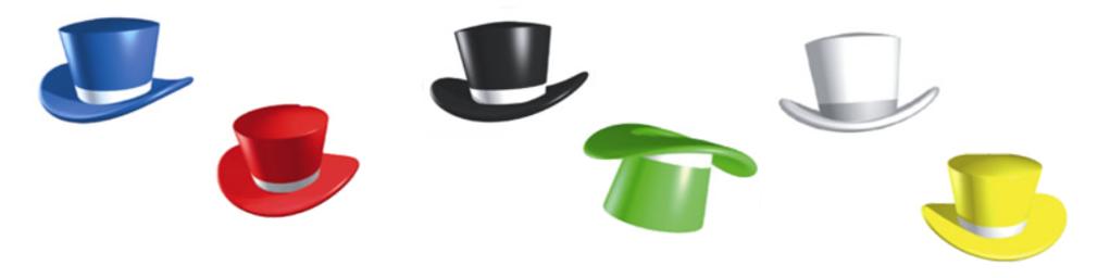 Edward De'Bono's Thinking Hats.