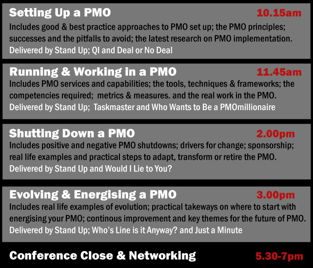 Stand Up for PMO Agenda