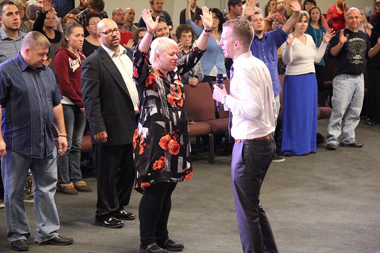 Being Prayed for by Evangelist Jonathan Shuttlesworth