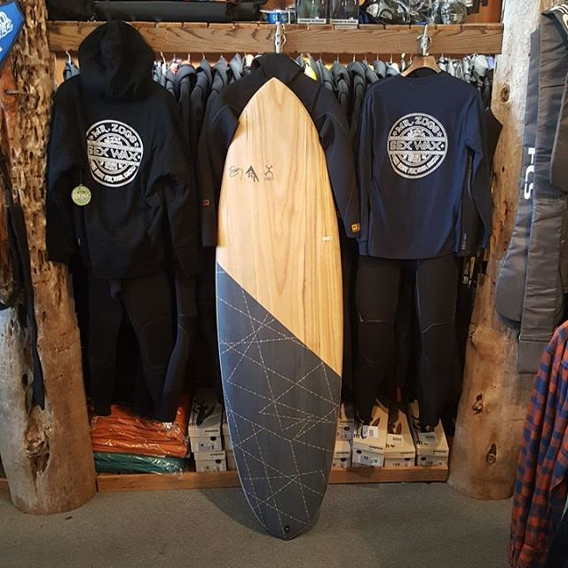 Just getting all the winter gear in come check us out! #SexWax #Firewire #Machado #Patagonia #PNW #CoosBay