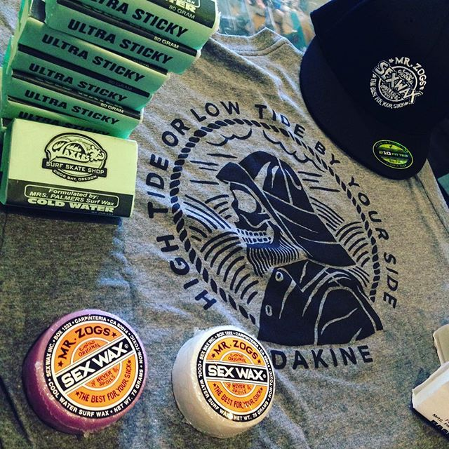 Dakine x Sex Wax x Local Wax. Come through and check out some new items at the shop.