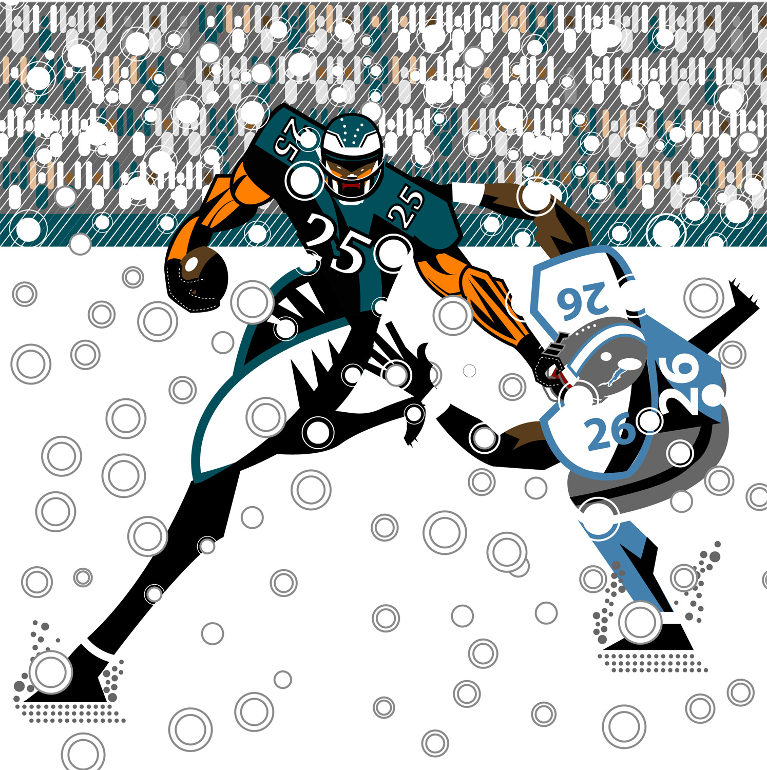 Lesean McCoy... Snow Bowl!