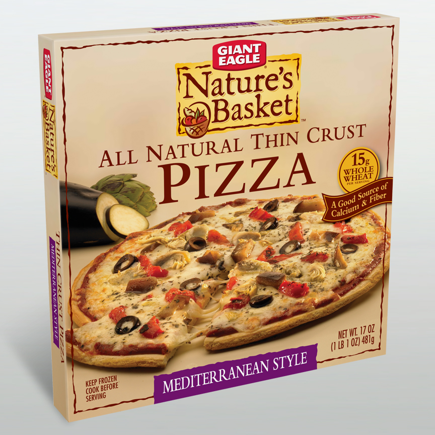 Nature's Basket Pizza