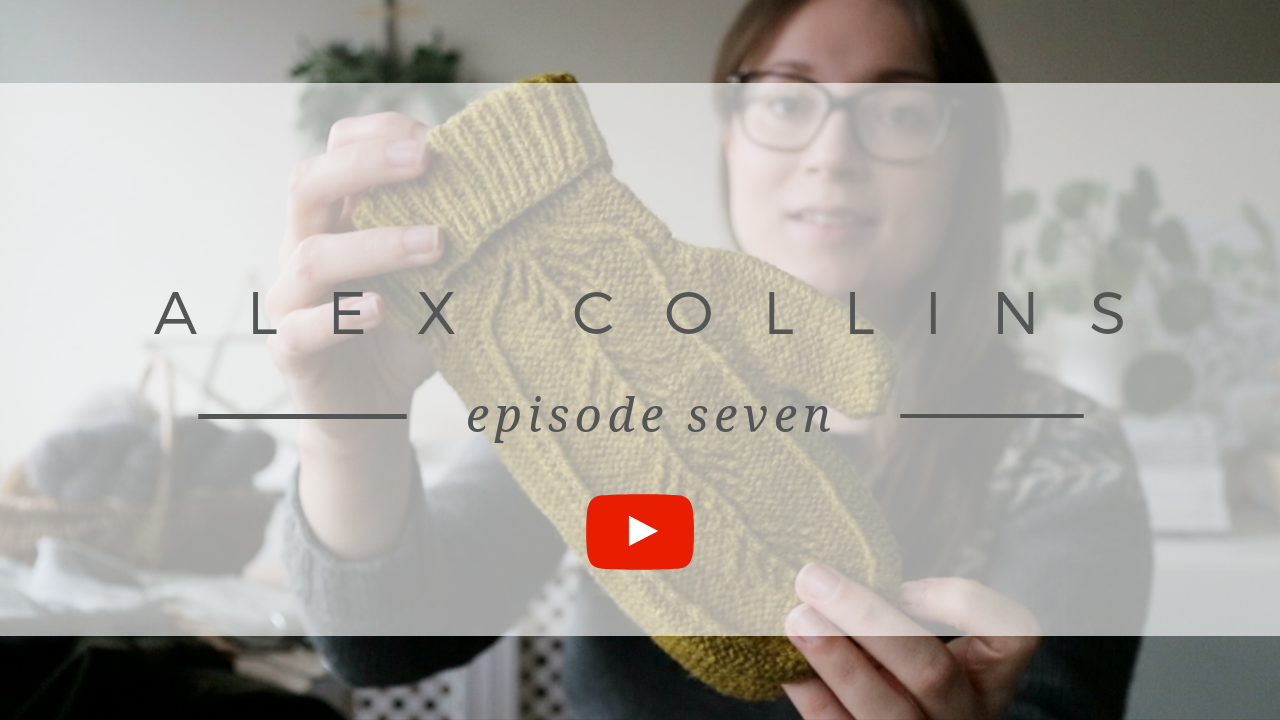 Alex Collins | Episode 7 Show Notes - A Knitting and sewing podcast.