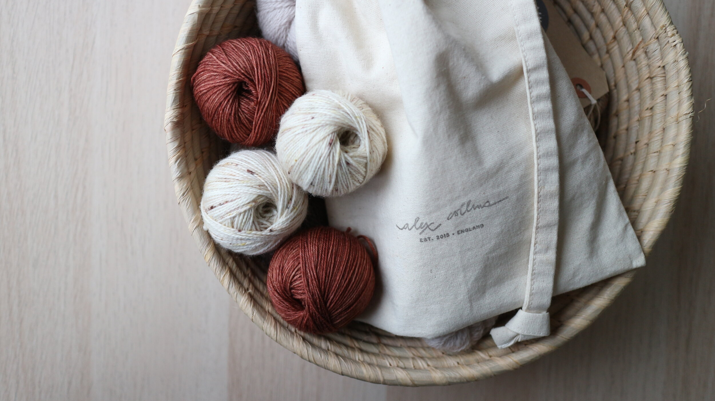 How to wind a ball of yarn by hand