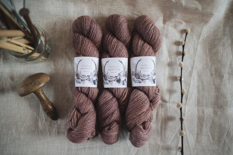 Woolly Mammoth Fibre Co. Yarn