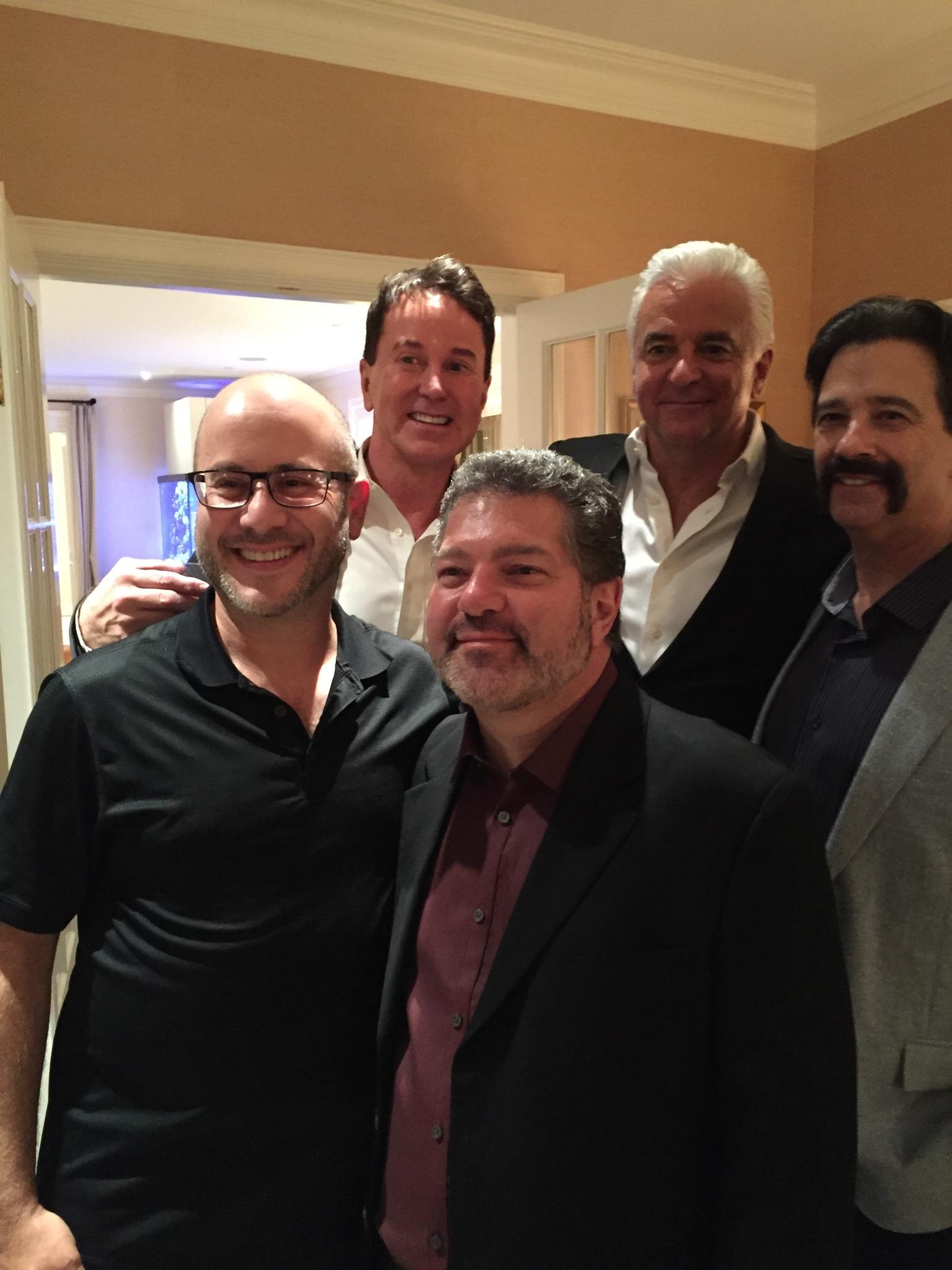 Davis Gaines, John O'Hurley, Dave Caplan Josh Greer & Allen Zipper