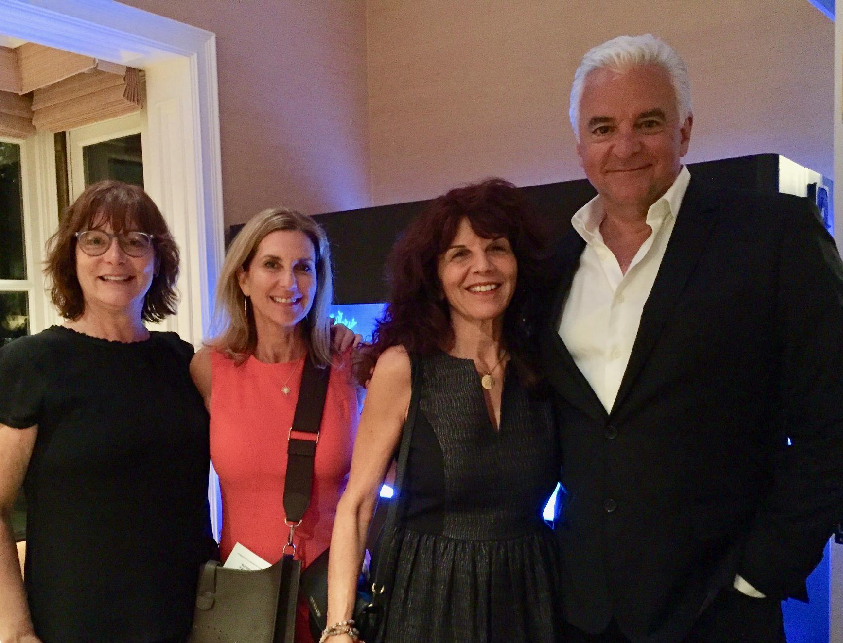 Lisa Greer, AnnDee Levy, Diana Buckhantz & John O'Hurley