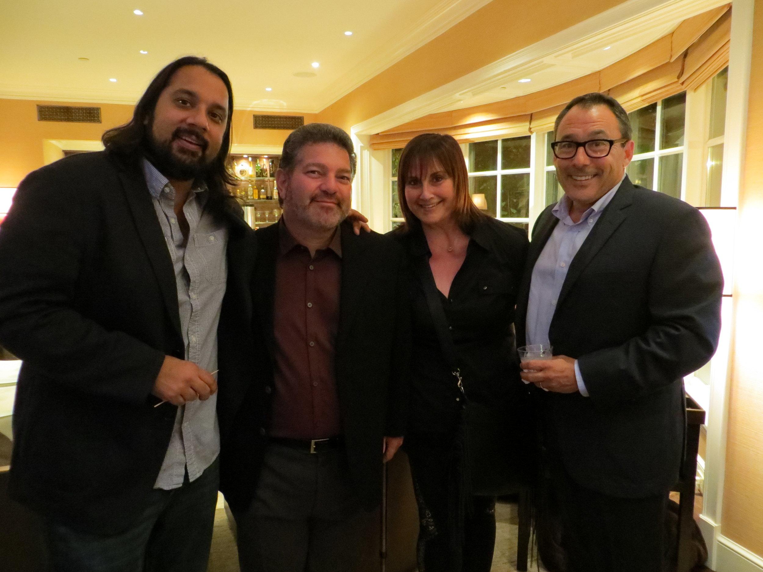 Vijal Patel, Allen Zipper, Barbara Bemel & Jeff Levy