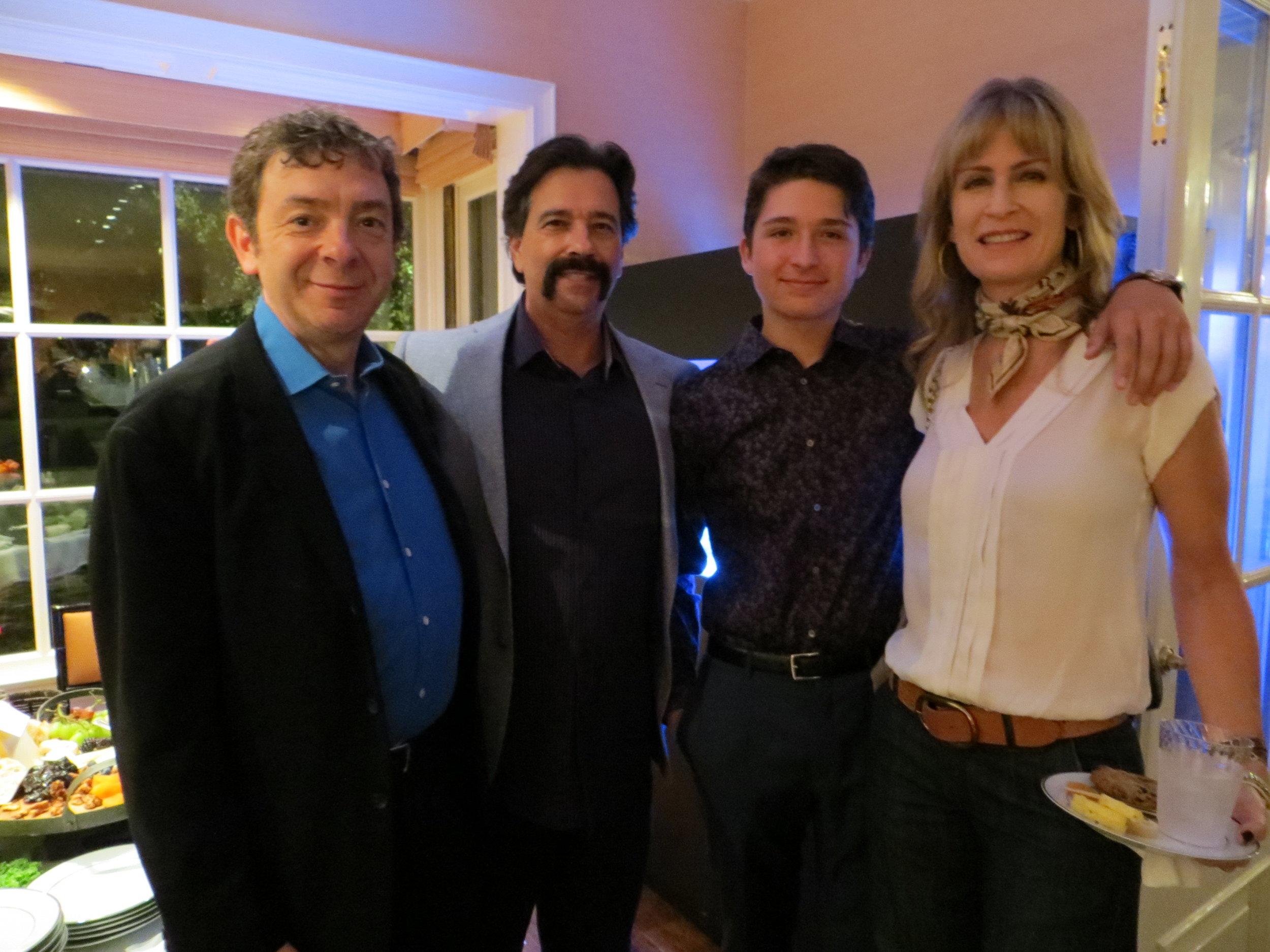Hugh Fink, Dave Caplan, Henry Lefler &  Anna Lefler
