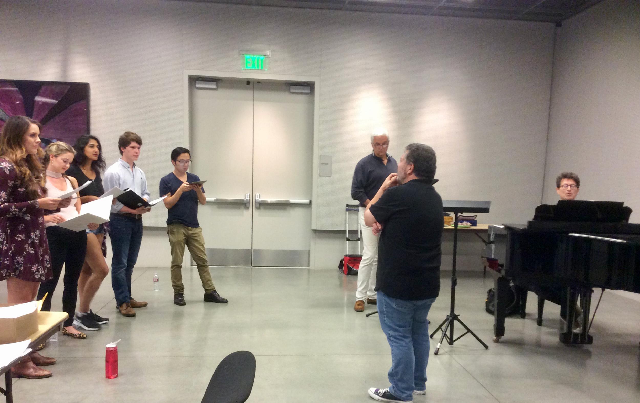 """The American Way"" Rehearsal"