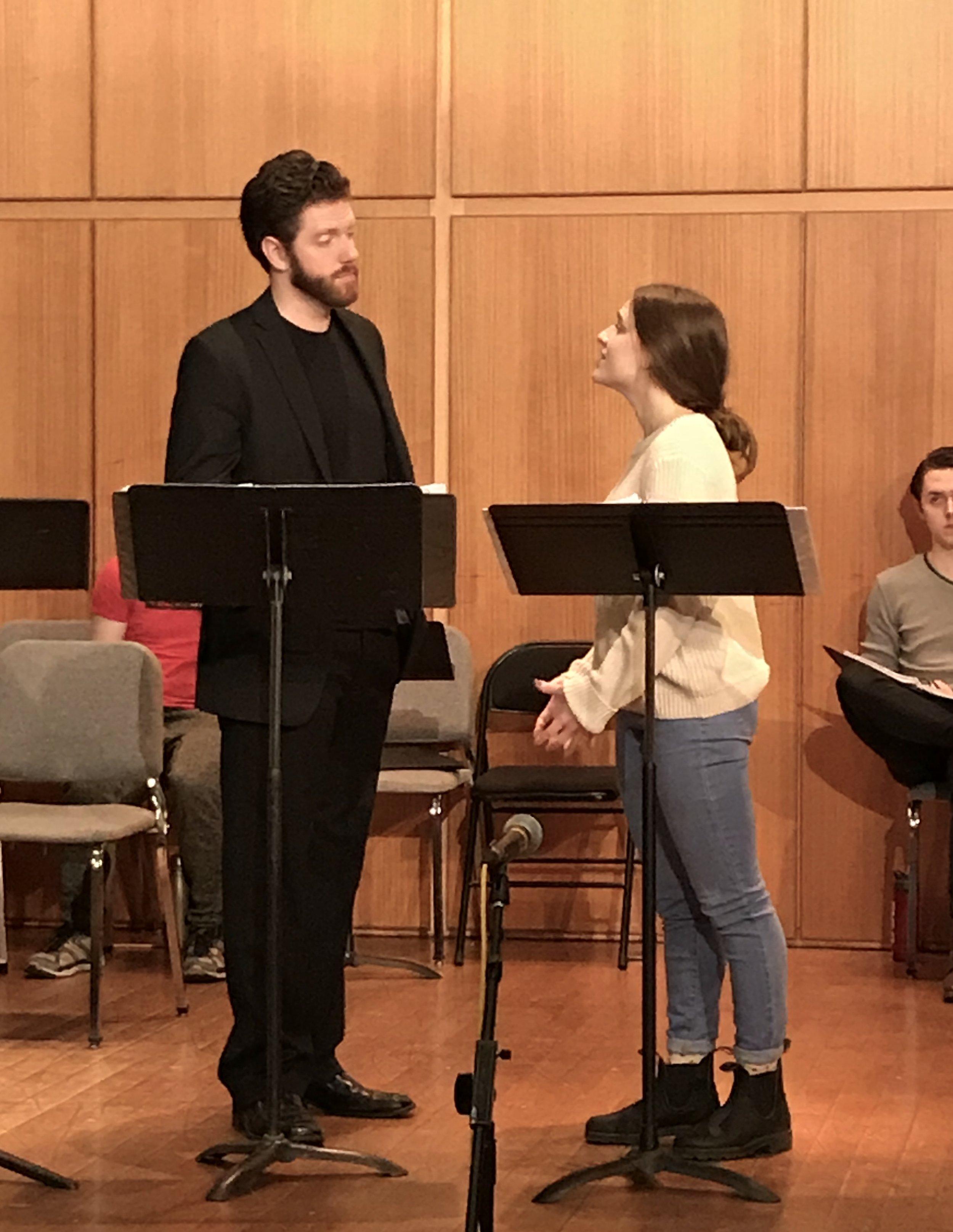 Jake Blouch & Samantha Mautner