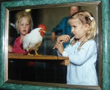 My love of poultry has been a lifelong adventure. I would like to thank the local 4-h programs of my hometown of St. Maries for  developing my interests in everything from livestock to sewing and theater. I would also like to thank my parents for always supporting my hobbies and dreams.