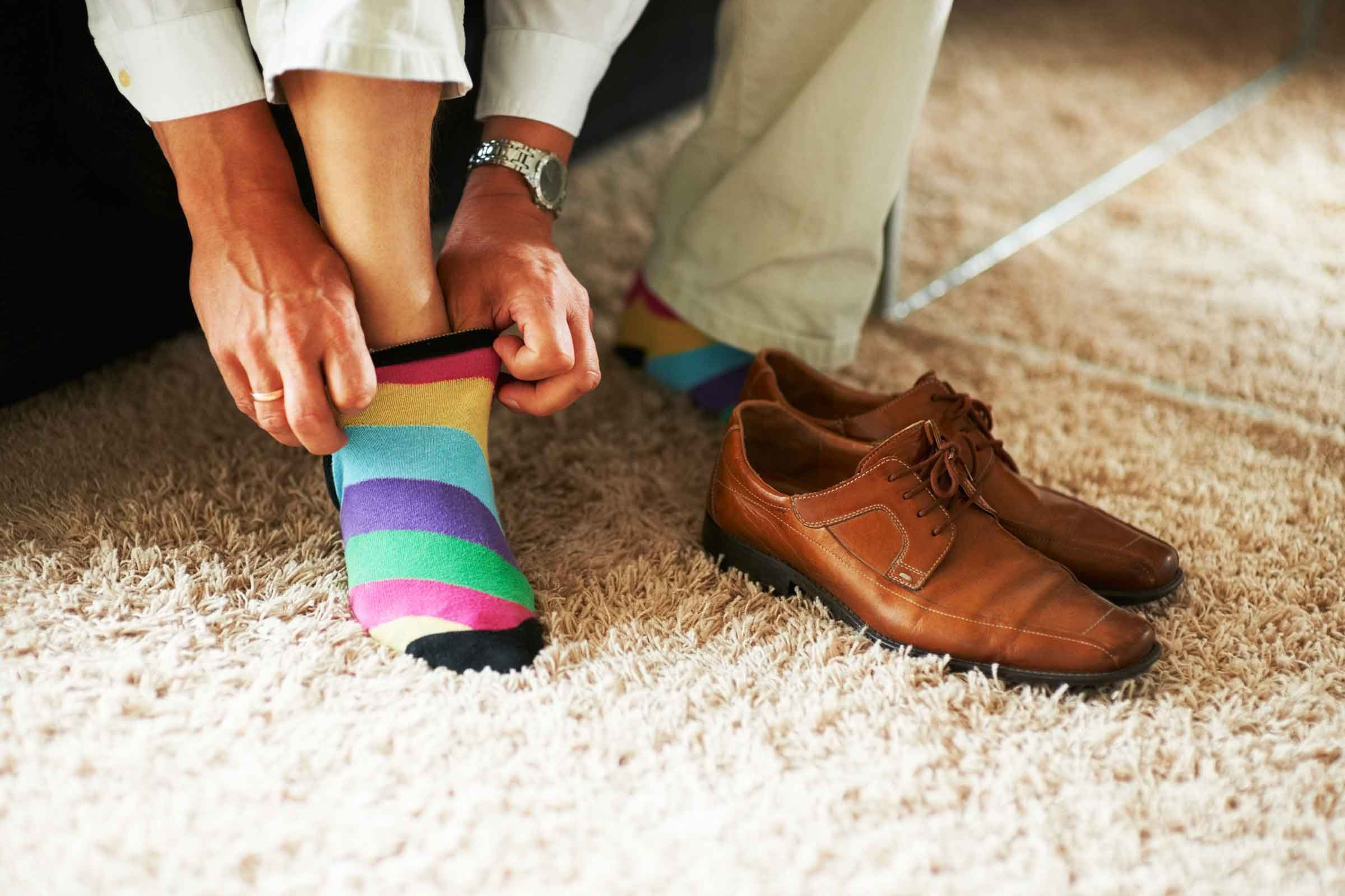 Reader's Digest:  Why To Take Your Shoes Off At Home    Need a reason to reach for your slippers? Dispel germs and keep your grimy work boots at the door for these key reasons.