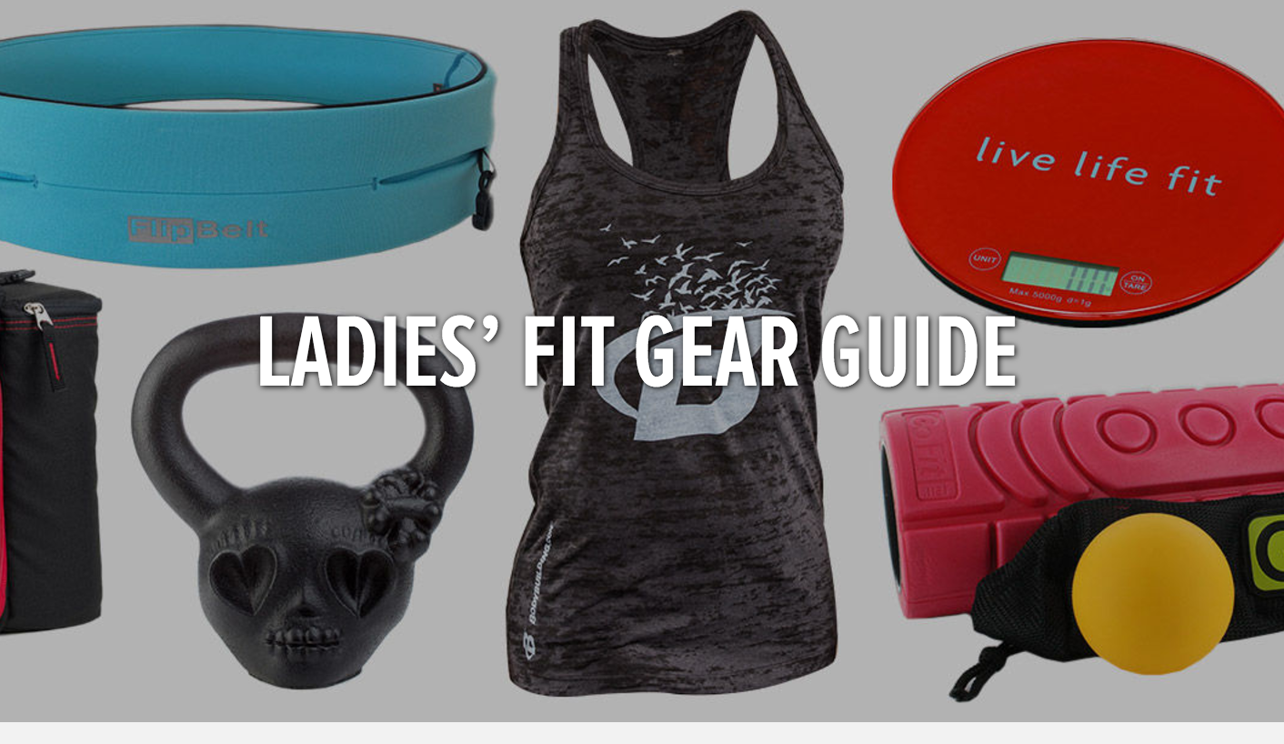 Bodybuilding.com:  Workout Gear For Women    Your fellow women warriors at Bodybuilding.com have put together a list of our favorite fitness gadgets, apparel, and supplements. Check it out and add your own!