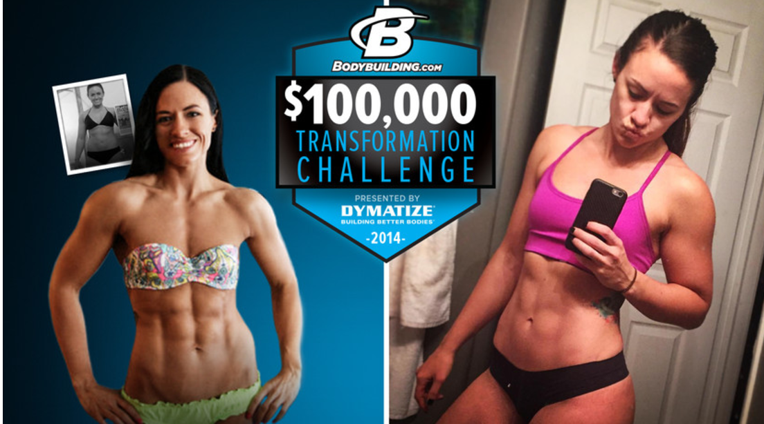 Bodybuilding.com:  Where Are They Now? 100K Transformation Winner Robyn Koolen    After winning Bodybuilding.com's4 100K transformation challenge, Robyn Koolen decided to kick things up and enter a fitness competition. Here's what she's been up to since.