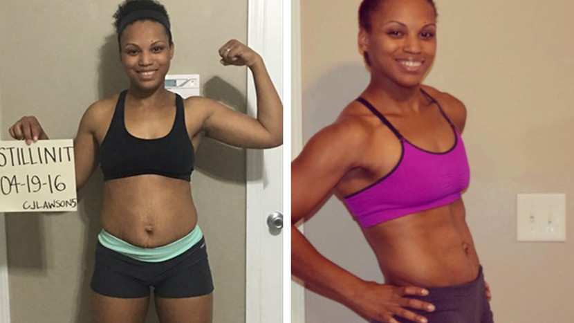 Bodybuilding.com: Candace Mixed Fitness With Everyday Tasks And Lost 30 Pounds!    Juggling the responsibilities of a mom and student left Candace feeling overwhelmed and lost. She started working out to encourage her husband, but ended up turning her own life around.