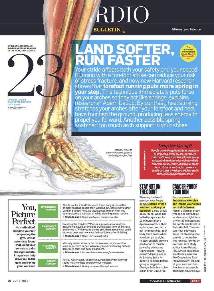 Men's Health Magazine Bulletin