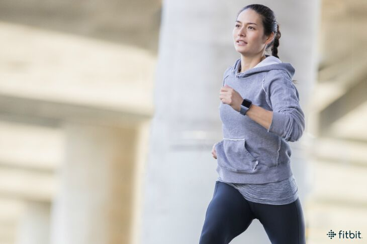 Fitbit.com:   Are Your Shoulders Messing With Your Stride?   It's easy to think you run only with your legs, but your arms are key to proper form.