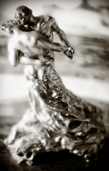 La Valse  (The Waltz). Camille Claudel, various reworkings of the subject, 1889-1905.