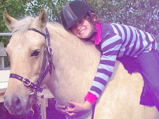 RDA Kingborough's Jess – the National winner Horse of the Year - with reserve State Champion rider, Rosie Treasure.