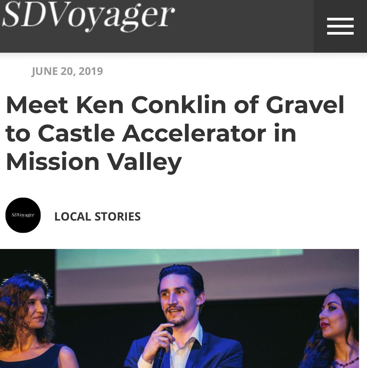 Ken Conklin Gravel to Castle Accelerator