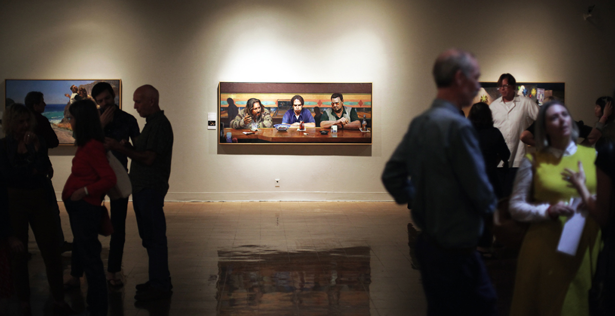 The Lebowski Cycle, Installation view