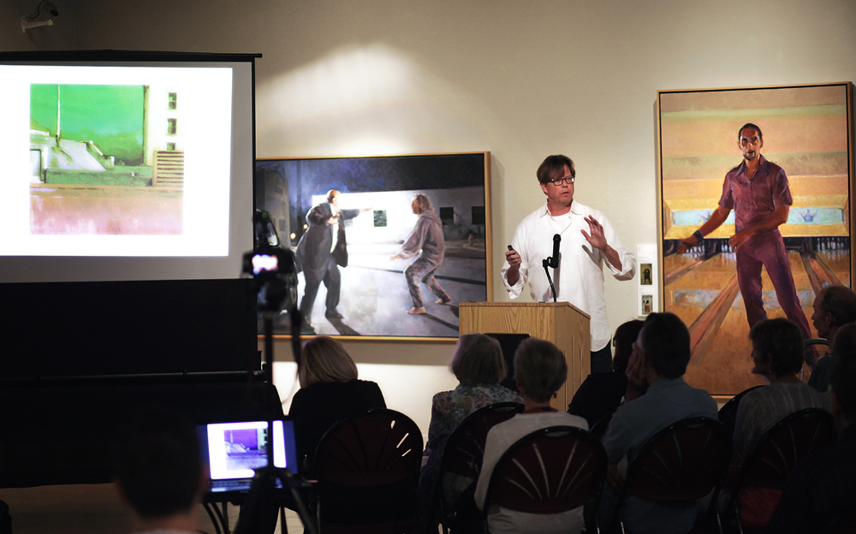Artist Lecture - Ideas and Process: Painting The Lebowski Cycle