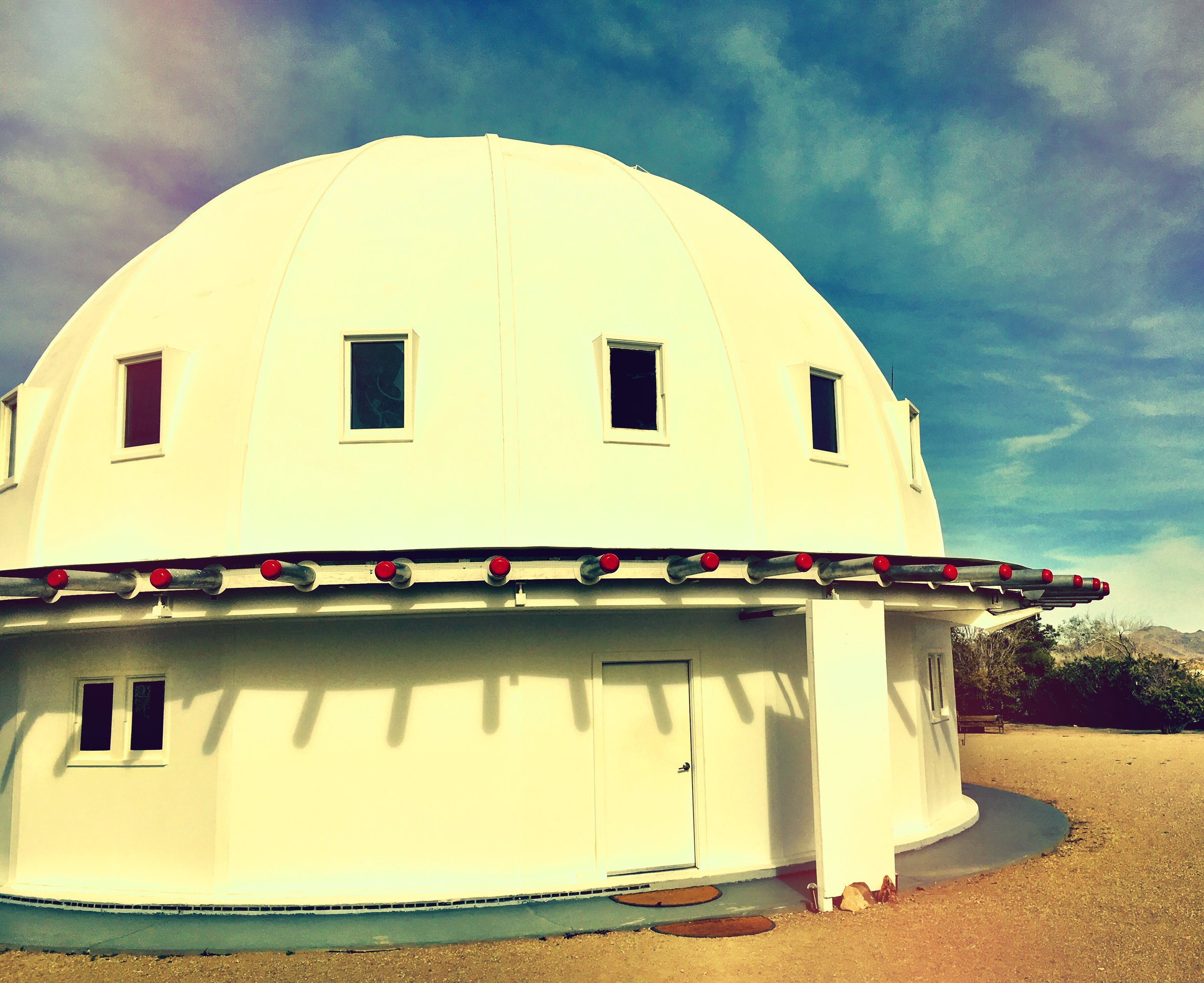 Landers, California.