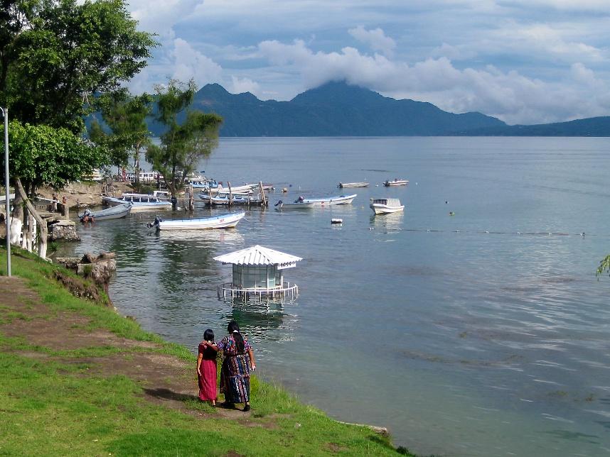 Marathoning around Lake Atitlan in Guatemala