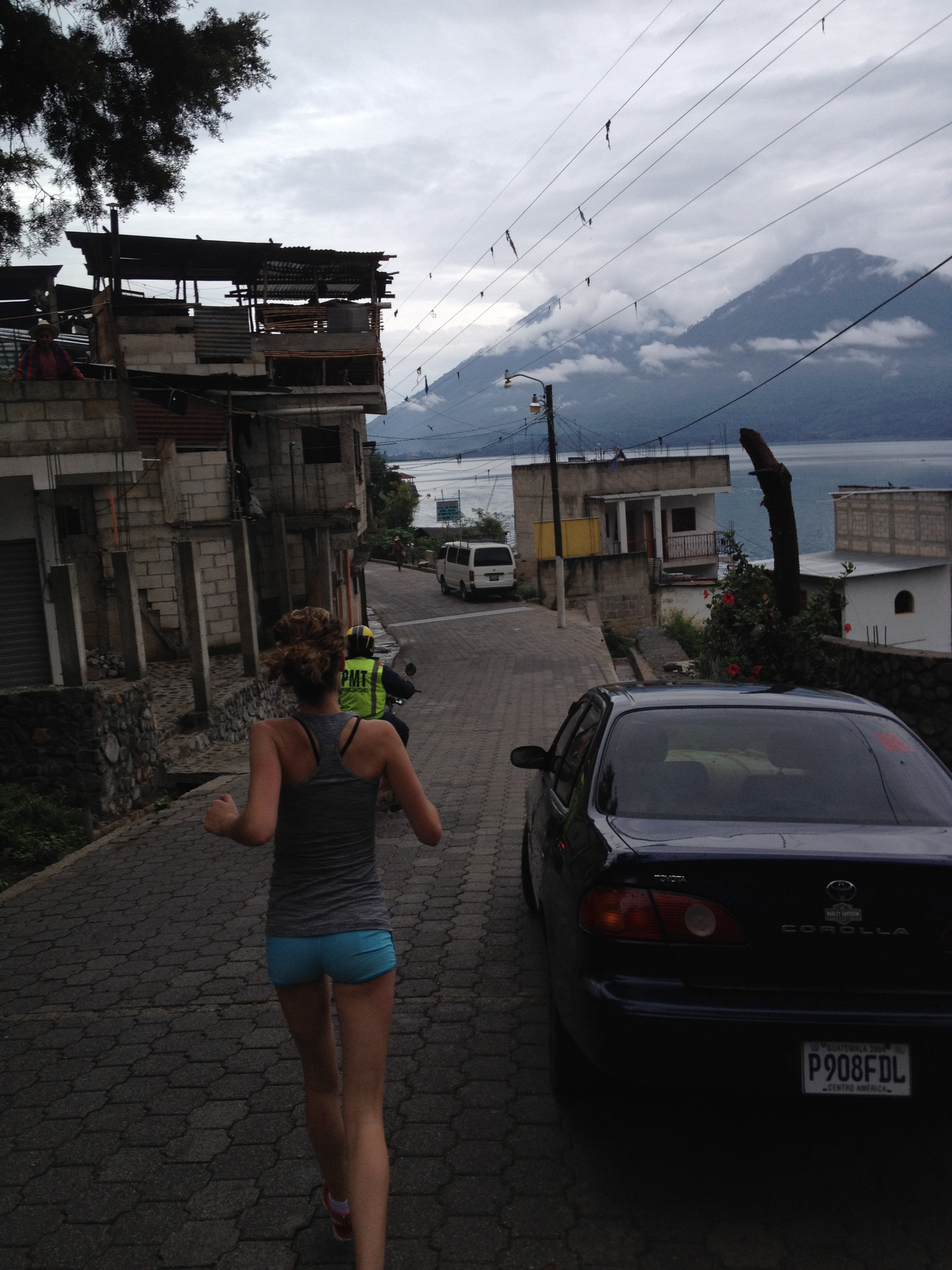 Lake Atitlan Marathon, Guatemala- May, 2012