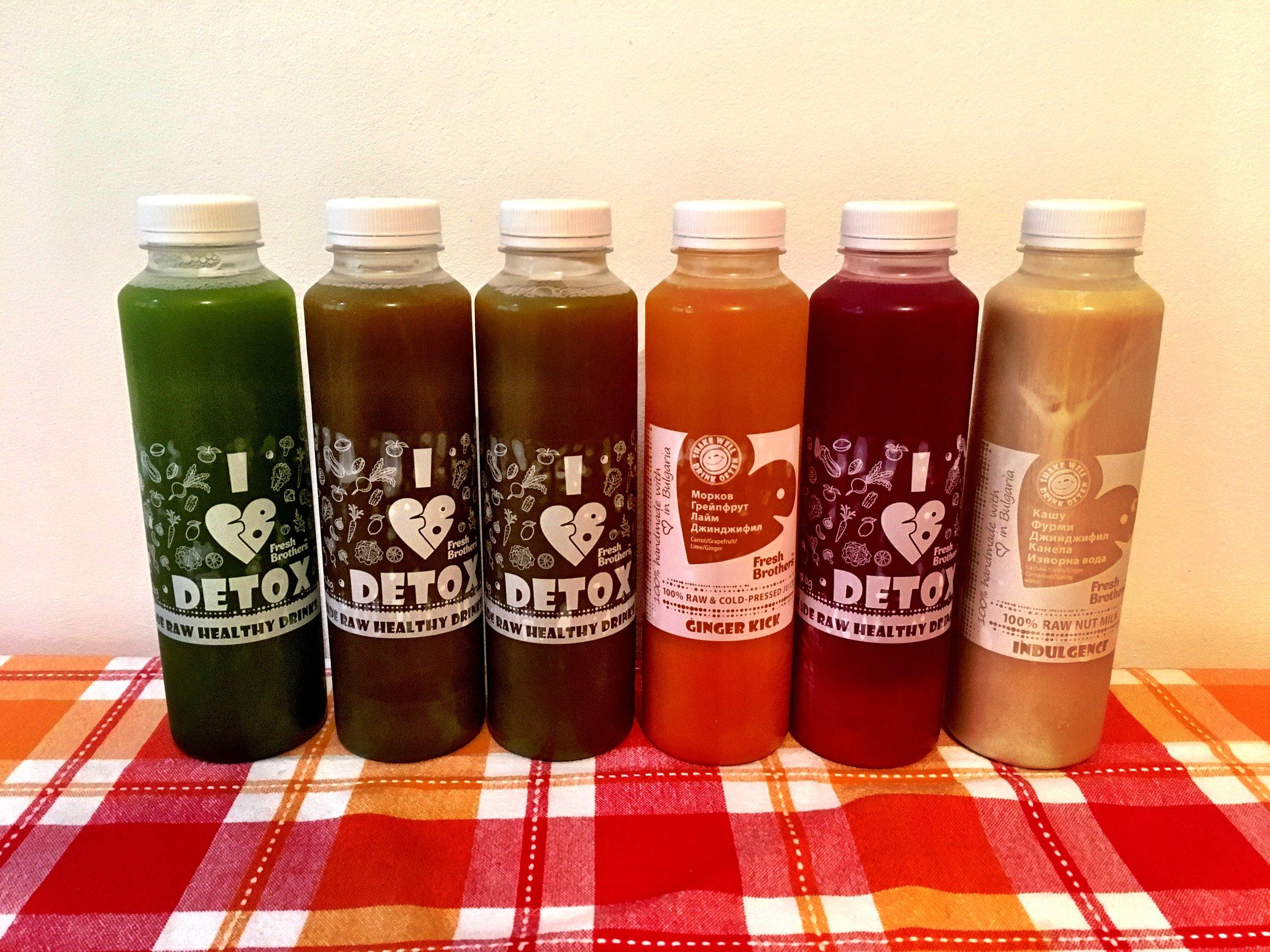 The Juice Line-up