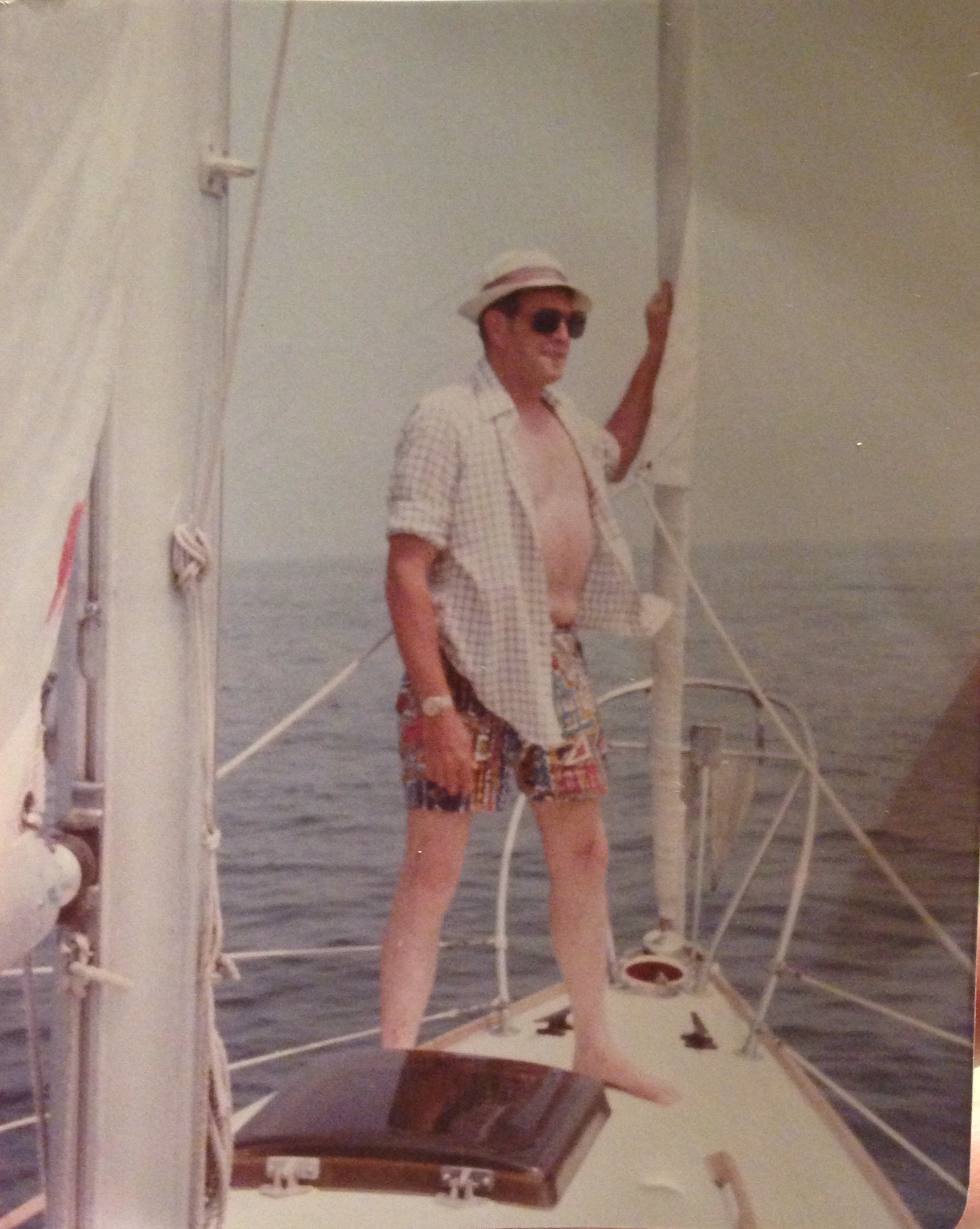 My grandfather, the boat lover