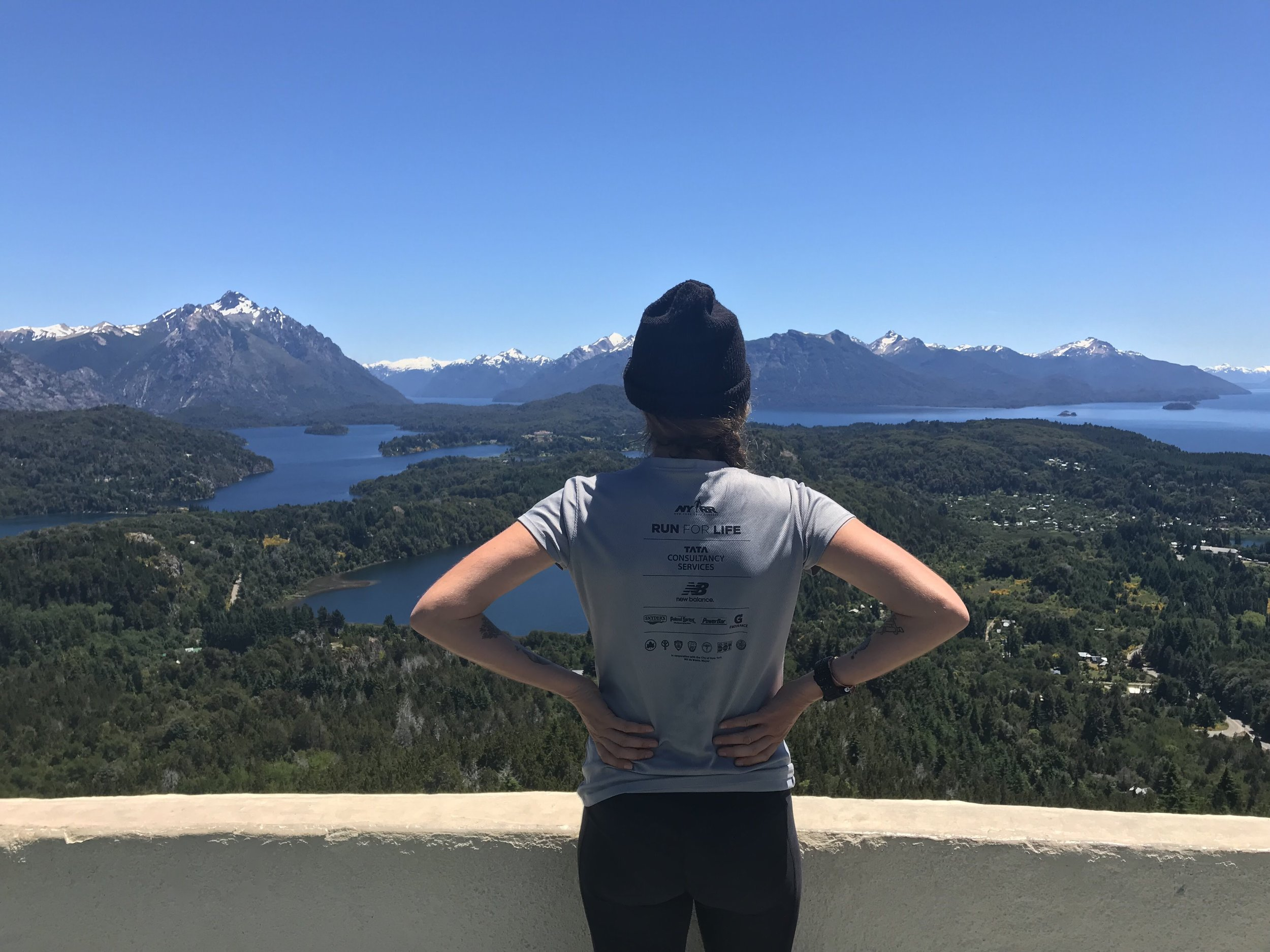 Hiking views in Bariloche, Argentina (Patagonia), December, 2017