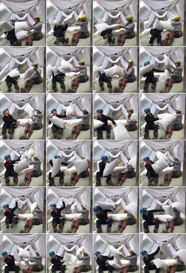 Peruvian Pod Pillow Fight (super fun, but not great for inducing sleep)