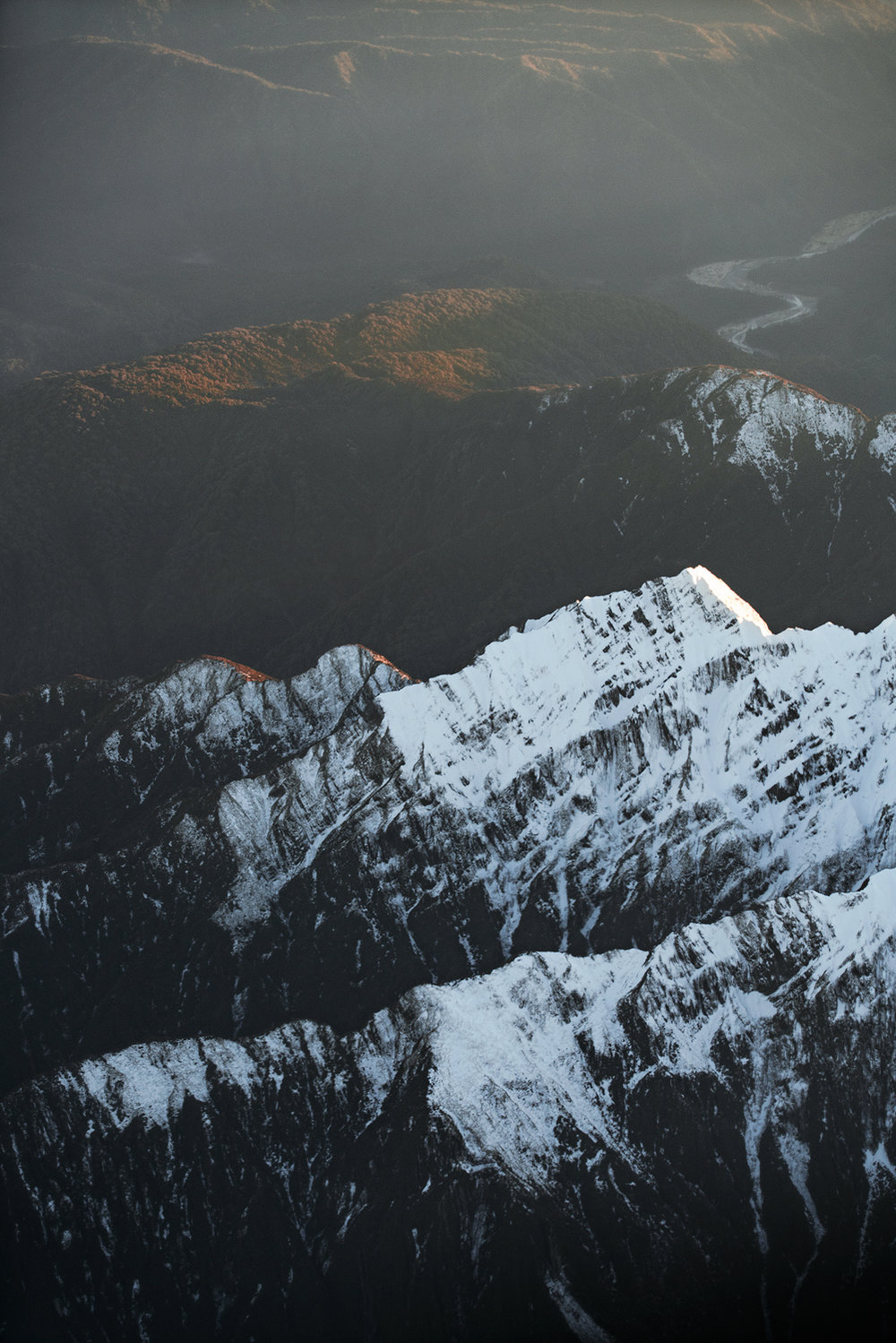 Mt. Cook National Park from the Air